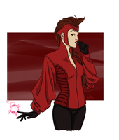 Wanda Maximoff by Lightengale