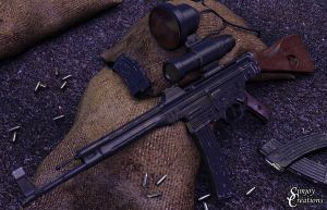 ZG 1229 IR optic on STG-44 by teslapunk