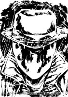 Rorschach black and white by dekarogue