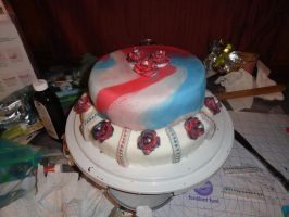 Fourth of July Cake by Kate078