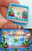 12th scale ocean cake by PetiteCreation