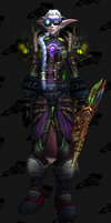 Fel Hunter Front by Izina