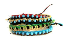 Four bracelets by EerinVink