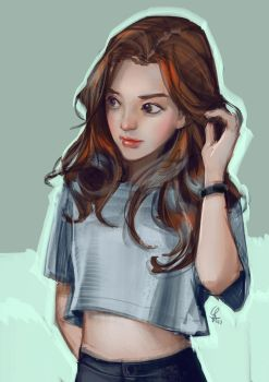Study/ Sketch by cloudintrousers