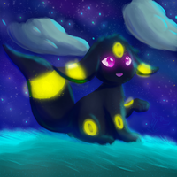 Glowing in the night by Steve-the-Lucario