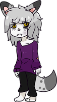 Wolf Boy -old by Damian-Fluffy-Doge