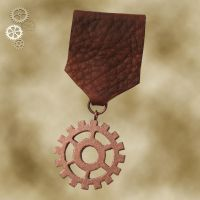 Steampunk Medal 4a by Utinni