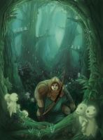 Princess Mononoke by Krikin