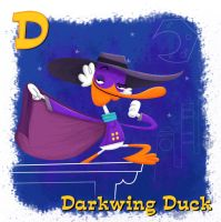 Darkwing Duck by xanderthurteen