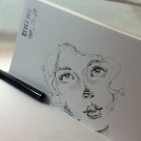 One minute sketch. by tolagunestro