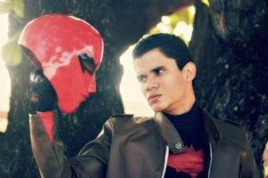 Jason Todd, The Red Hood - Stare At Yourself by DashingTonyDrake
