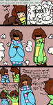 Ask CSTC 14 - FRISK STOP THAT by Minty-Draws
