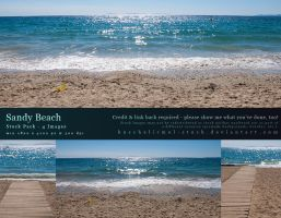 Sandy Beach Stock Pack by kuschelirmel-stock