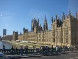 The Building of Parliament by Mate397