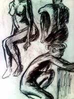 Quick sketches - acts by Pralline