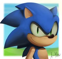 Sonic the Hedgehog by Ashman718