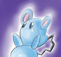 Favorite Baby Pokemon azurill by megadrivesonic