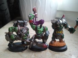 some of my old orks 5 by skincoffin