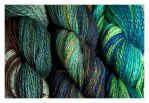 Nunoco Mini Batts Plied Handspun by ewm