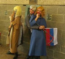 Russia X France cosplay by Astrid569