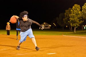 Kickball - 1 by BertLePhoto