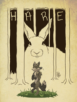 Hare by casual-dhole