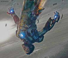 Iron Man: Falling by Soph-LW
