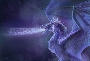 Mystical Dragon by CLB-Raveneye