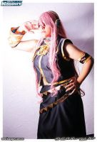 V: Megurine Luka - You hear by Claudini25