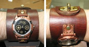 Steampunk Watch by Utinni