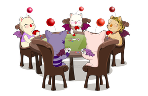 Moogle Poker Game by jmascia