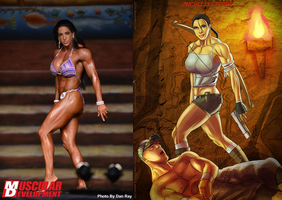 Michelle Tombraider Trapp Over John Cena by Ulics by zenx007
