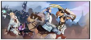 Chocobo's Rule The World by CeruleanRaven