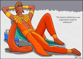 Lord of the Sun (lounger) by Azvolrien