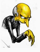 Mr. Burns by suarezart