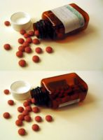 Pill Bottle 2 by gmtb-stock