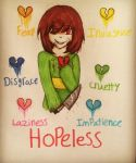 Chara And The 7 Broken Souls by Pastel-Horrors