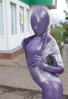 zentai en leotardo by JLAvenger2