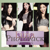 Photopack Luna- F(x) 014 by DiamondPhotopacks