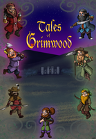 Tales of Grimwood cover by SnowStoat