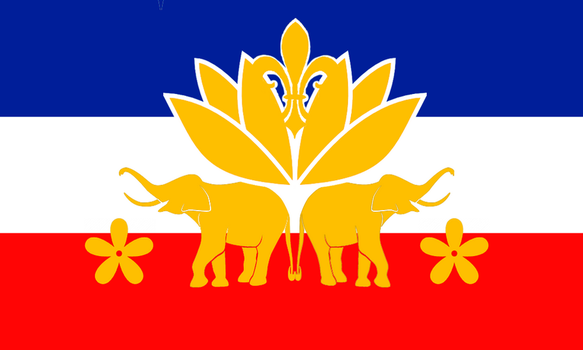 Indochina Flag AH by Fridip