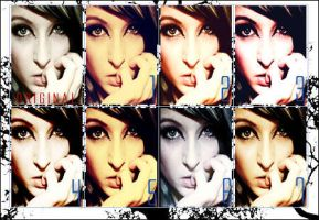 PhotoShop Actions , Set 8 by Baby4Girl