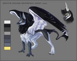 Griffin Design Reference Sheet by Demialus