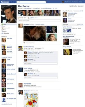 The Doctor's Facebook Profile by CPD-91