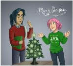 Christmas Card 2014 by akiwitch