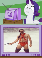 Rarity TV Meme: Zardoz by Joezilla1991