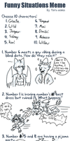 Funny Situations Meme by glaciethewolf