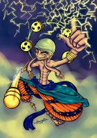 God Enel by Umi-no-Rex