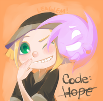 Code Hope doodle by Leaglem