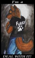 FURRY_Tshirt Design by TheKarelia